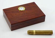 Humidor Angelo Walnuss Mini für ca 10 Zigarren mit Acrylpolymere-Befeuchter