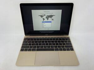 MacBook 12 Gold Early 2015 MF855LL/A 1.1GHz M 8GB 256GB - Good - Keyboard Wear