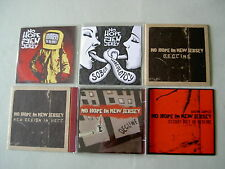 NO HOPE IN NEW JERSEY job lot of 6 CD/promo CDs Steady Diet of Decline Sampler