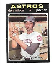 DON WILSON 1971 TOPPS #484 NRMT HOUSTON ASTROS FREE COMBINED SHIPPING