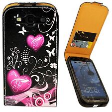 Pouch Flip Phone Leather Card Slot Case Cover For Samsung Galaxy S3 III i9300