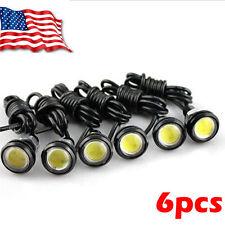 6pcs 9W LED Eagle Eye White Light Daytime Running DRL Tail Backup Light HS
