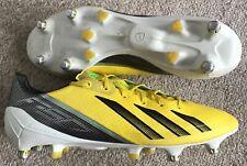 ADIDAS F50 ADIZERO SG SYNTHETIC FOOTBALL BOOTS UK 9