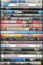 Popular films from the 1970s & 1980s on Dvd, combined shipping $3.99 maximum