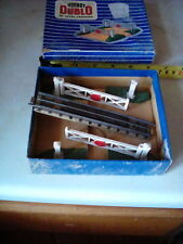 Hornby Dublo level crossings 1960 in box