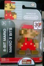 Super Mario Bros. 8-Bit Mario Figure 30th Super Mario collectable