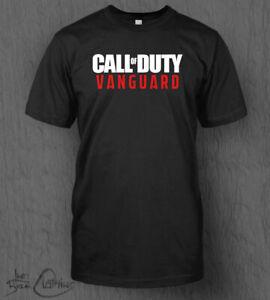 Call of Duty Vanguard T-Shirt MEN'S CoD Black Ops Coldwar Warzone PS4 PS5 Xbox
