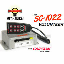 Carson SC-1022 Siren with Built in Switchbox