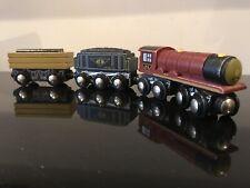 """NYC 3-Car Wooden Train, by Toys """"R"""" Us Imaginarium. Compatible w/ Thomas & Brio"""