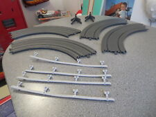 DISNEY PIXAR CARS HO SLOT TRACK REPLACEMENT CURVED  TRACK AND GUARD RAILS