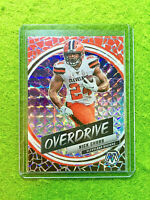 NICK CHUBB SILVER PRIZM MOSAIC CARD JERSEY #24 BROWNS SP - 2020 Mosaic OVERDRIVE