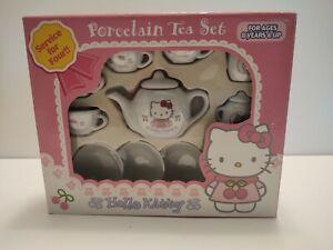 Vintage Sanrio Hello Kitty Princess Porcelain Tea Set, New!