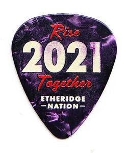 Melissa Etheridge Nation Fan Club Purple Pearl Guitar Pick - 2021