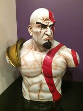 LIFE SIZE BUST,STATUE/ACTION FIGURE,KRATOS GOD OF WAR.