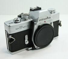Vintage Minolta SRT MC-II Camera Body Only Made Japan 35mm SLR Clean Works