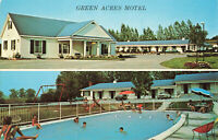 Postcard Green Acres Motel Kingston Ontario Canada