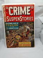 CRIME SUSPENSTORIES #15 - Fair/Good - Pre-Code issue - cover detached