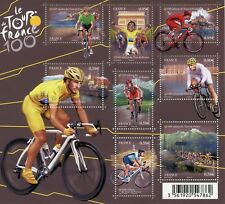 TIMBRE FRANCE NEUF BLOC  FEUILLET N° F4755 ** SPORT CYCLISME 100° TOUR DE FRANCE