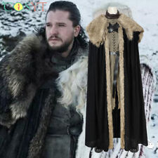 Jon Snow Cosplay Halloween Costumes GOT SE.8