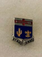 Authentic WWII US Army 155th Infantry Regiment Insignia DUI Unit Crest