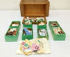 Vintage Stamp Collection Bundle British in Boxes + Sorted