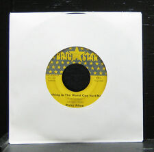 """Ricky Allen - Nothing In The World Can Hurt Me VG 7"""" Vinyl 45 Bright Star BS 147"""