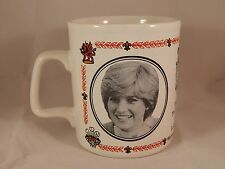 Royal Wedding Mug / Cup Charles and Diana 1981 Kiln Craft English Ironstone