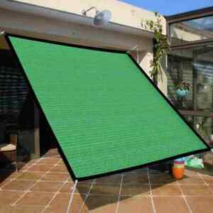 Outdoor Garden Yard Sunscreen Striped Net Shade UV Resistance Cover G5J9 D9C2