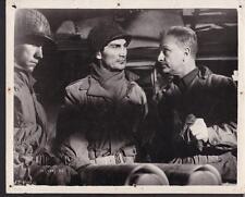 Jack Palance Eddie Albert in Attack 1956 original movie photo 26096