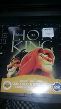 The Lion King Blu-ray/DVD, 2017, 2-Disc Set, SteelBook Only Best Buy  wStickers