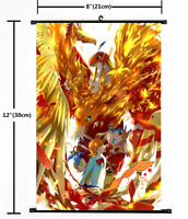 Anime Digimon Adventure Wall Scroll Poster cosplay 1658