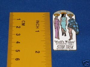 Star Trek Mudd's Women Original Series Episode Pin Badge STPIN7904