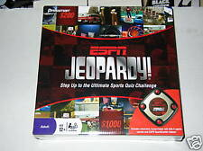 ESPN Jeopardy New Sealed Trivia Game