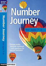 Number Journey 7-8 (Number Journey),Brodie, Andrew,New Book mon0000086870