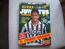 RIVISTA=HURRA JUVENTUS=N°7/8 1990=ROBERTO BAGGIO=MONDIALJUVE