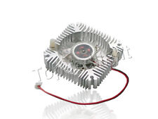 10pcs Aluminum Heat sink with Fan for 5W 10W High Power LED Light Cooling Cooler