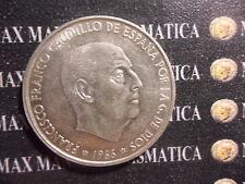 SPAGNA 100 PESETAS 1966 - 1970 SPAIN SILVER