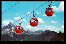 1967 Cablecar Lift Mt.Norquay  Bow Valley Banff Alberta Canada  postcard