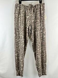 Knox Rose L Animal Print Sweatpants