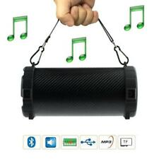 SPEAKER ENCEINTE PORTABLE BLUETOOTH MP3 CARTE MEMOIRE USB FM RADIO AUX