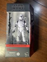 IN HAND HASBRO Star Wars Black Series Phase 1 Clone Trooper Action Figure
