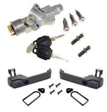 LARGE LOCK Ignition barrel & Handle conv kit LR077438 4 Land Rover Defender Puma