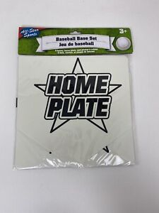 Baseball Bases Sports Birthday Party Favor Toy Coaching Training Practice Set