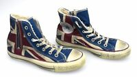 CONVERSE ALL STAR DONNA SCARPA SNEAKER BANDIERA INGLESE VINTAGE ART. 1C503