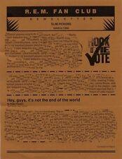 R.E.M. Fanclub Newsletter March 1994