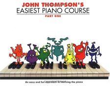 John Thompson's Easiest Piano Course: Pt. 1 (Part 1) New Paperback Book John Tho