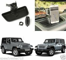 Dash Multi-Mount Phone Kit For 2011-2016 Jeep Wrangler JK New Free Shipping USA