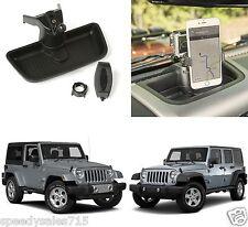 Dash Multi-Mount Phone Kit For 2011-2016 Jeep Wrangler JK New Free Shipping USA