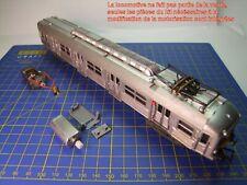 Kit ReMotorisation  Automotrice Inox BUDD Z5100 JOUEF Réf. 8701 - 7610 - 761E HO