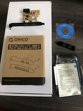 Orico Pci Express 2 Port Usb 3.0 Pfu3-2p Native With Mac OS & Hackintosh